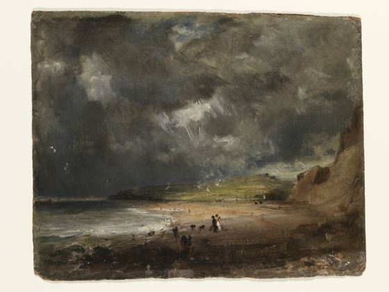 John Constable, Weymouth Bay, 1816, Collection Victoria and Albert Museum, London (given by Isabel Constable, 1888)