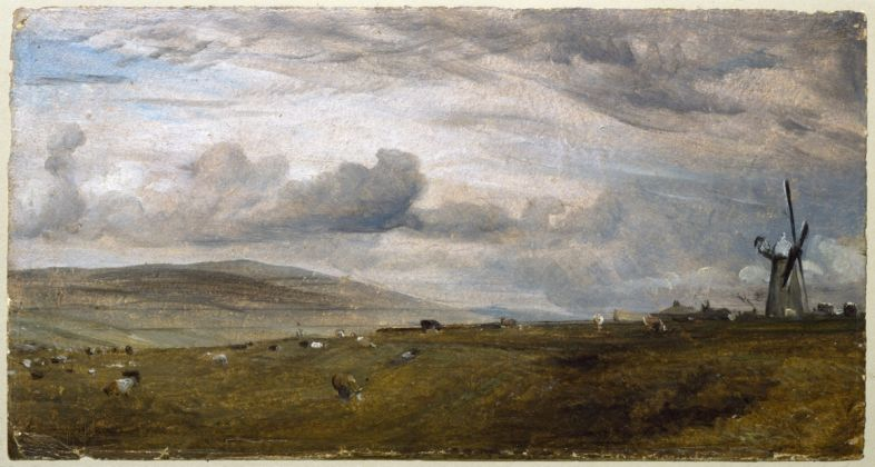 John Constable, Windmill near Brighton, 1824, Collection Victoria and Albert Museum, London (given by Isabel Constable, 1888)
