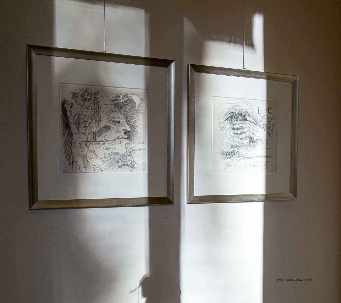 Karl Stengel. Con cuore puro. Exhibition view at Accademia d'Ungheria, Roma 2020. Photo Klára Várhelyi