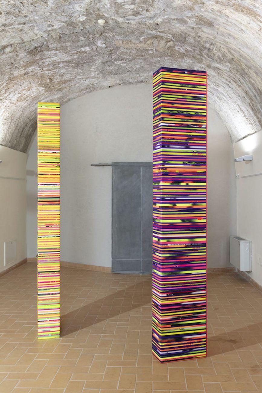 La casa dell'angelo. 5 artisti per Ugo Marano. Exhibition view at Complesso Monumentale dello Spirito Santo, Capriglia 2020