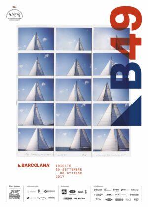 Manifesto 49a Barcolana 2017 by Maurizio Galimberti