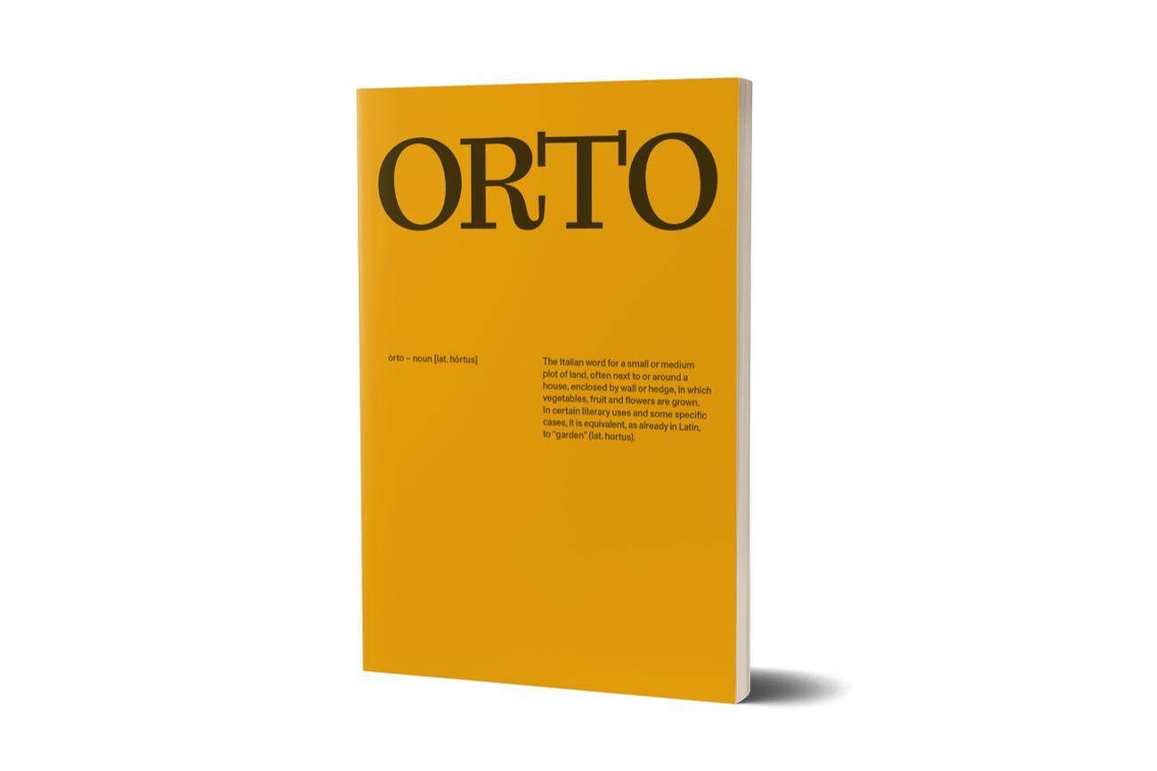 ORTO (Nero Editions, Roma 2020)