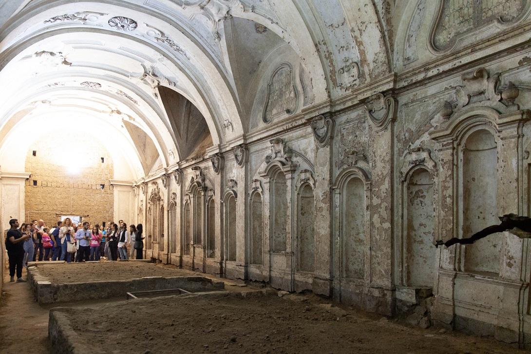 Open House Napoli 2020 SMMAVE CHIESA DELLA MISERICORDIELLA
