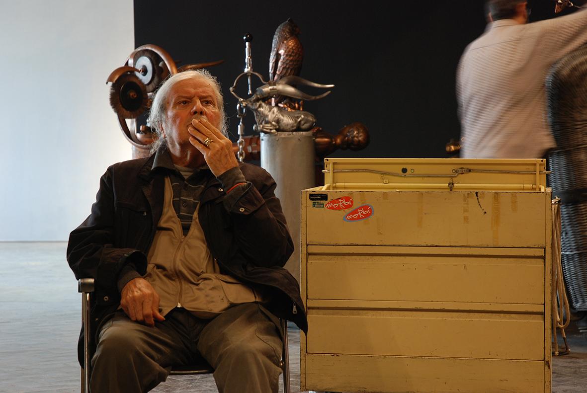 Opera di Valeriano Trubbiani ph. Stefano Sampaolesi