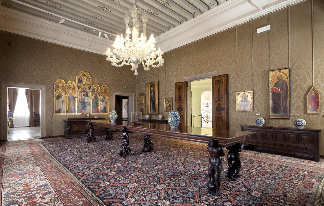 Palazzo Cini. La Galleria, Ph. Matteo De Fina