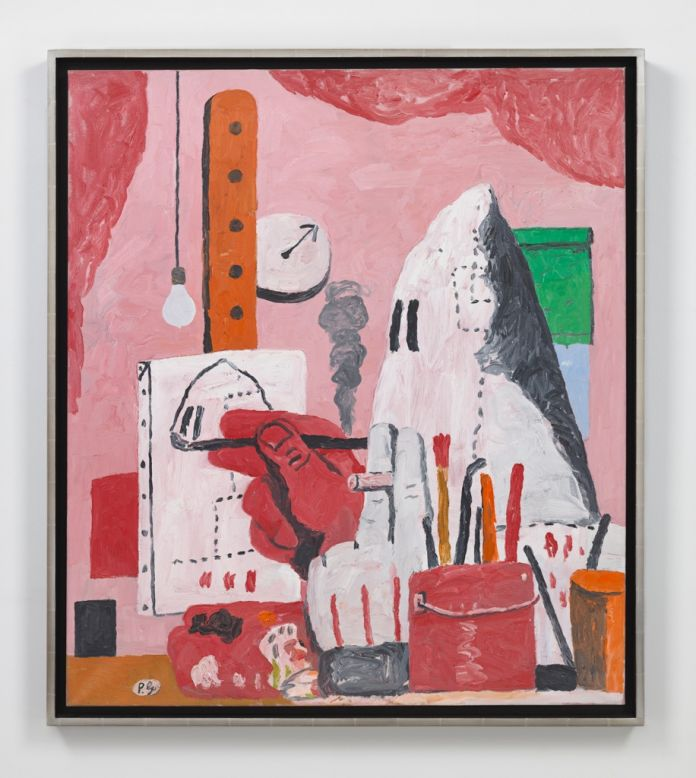 Philip Guston The Studio 1969. Olio su tela 1219 x 1067 cm. Collezione privata. © 2016 The Estate of Philip Guston Hauser Wirth