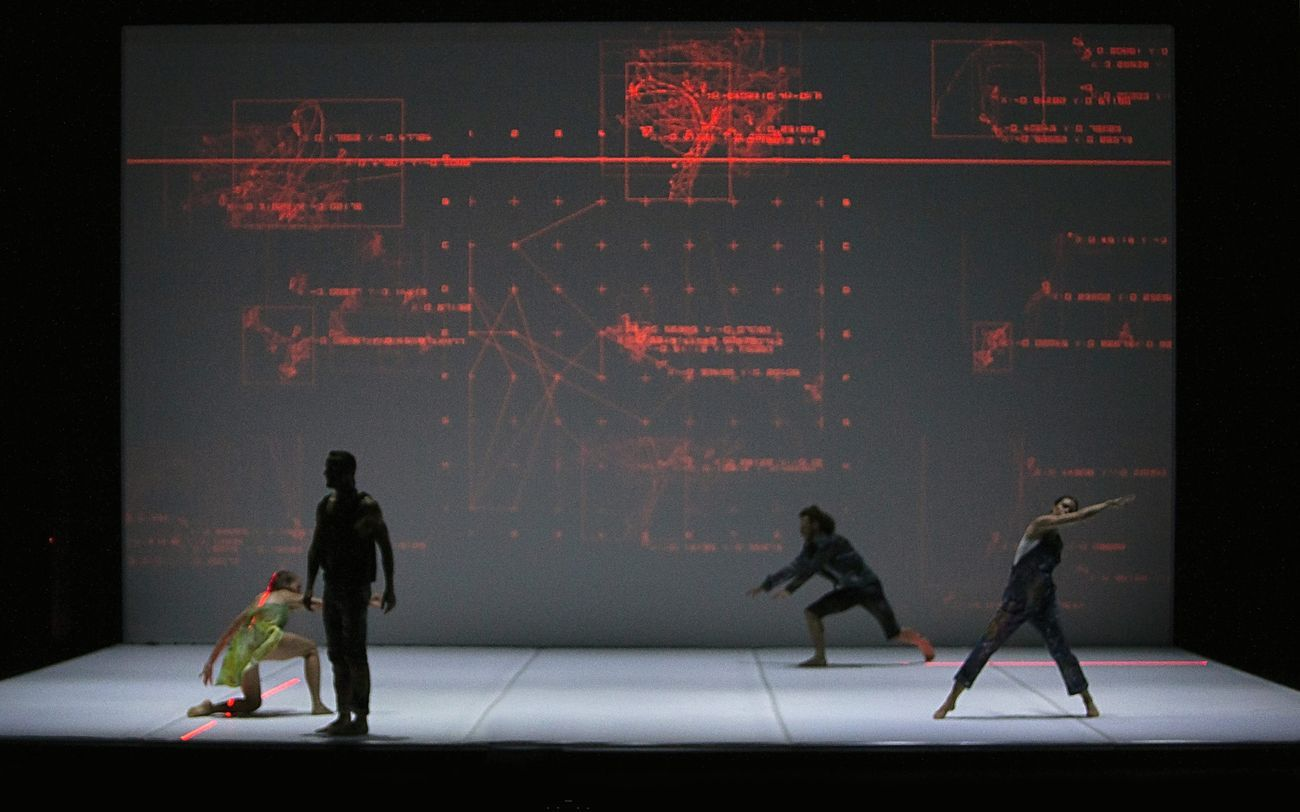 Pontus Lidberg & Danish Dance Theatre, Centaur. Photo Per Morten Abrahamsen. Courtesy Oriente Occidente Festival