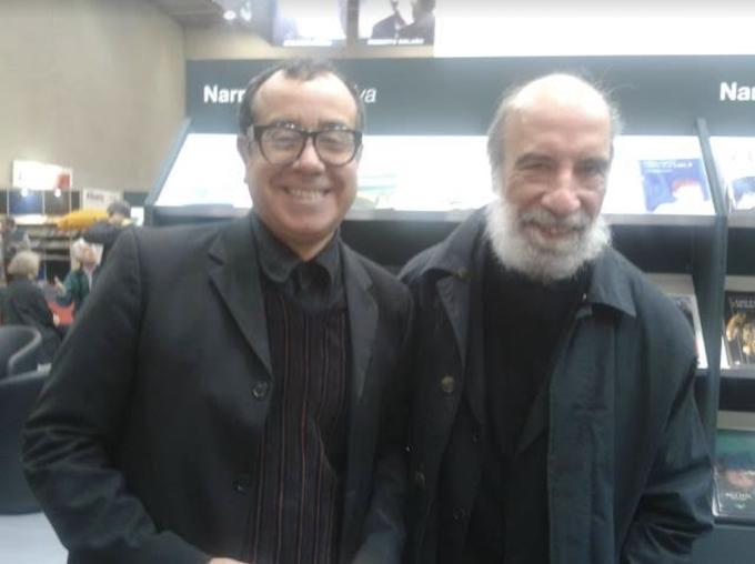 Raul Zurita e Antonio Arévalo, salone del libro de Tuyrin