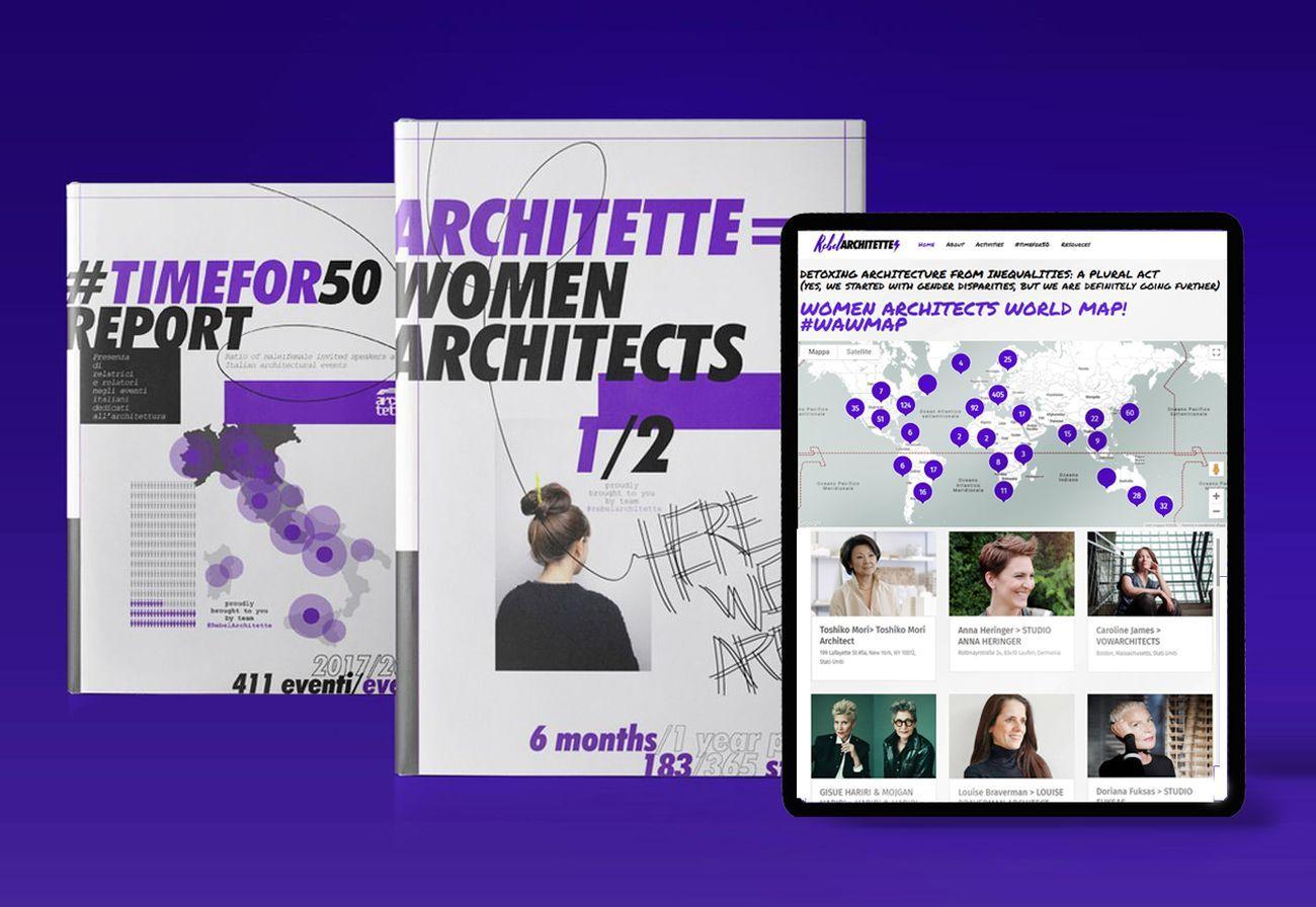 RebelArchitette, Architette Women Architects. Courtesy RebelArchitette