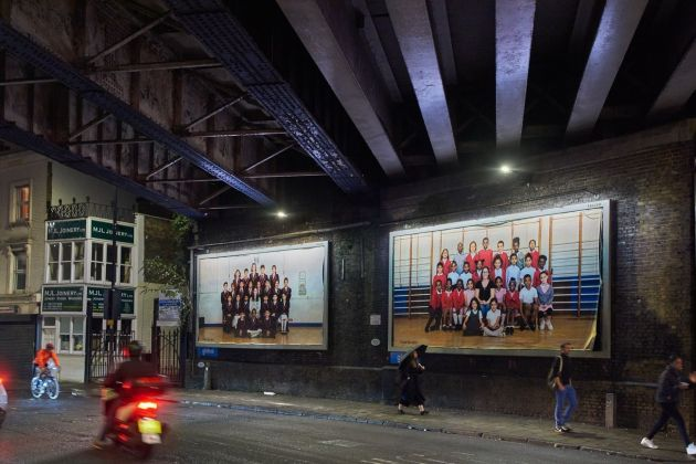 Steve McQueen, Year 3, 2019. Billboards at Coldharbour Lane, London Borough of Lambeth. Photo by Theo Christelis © Steve McQueen & Tate