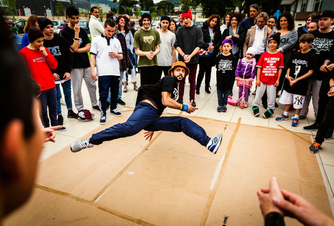 Tags&Comics. Breakdance battle. Photo di Riccardo Giommetti (Quasar Village 2016)