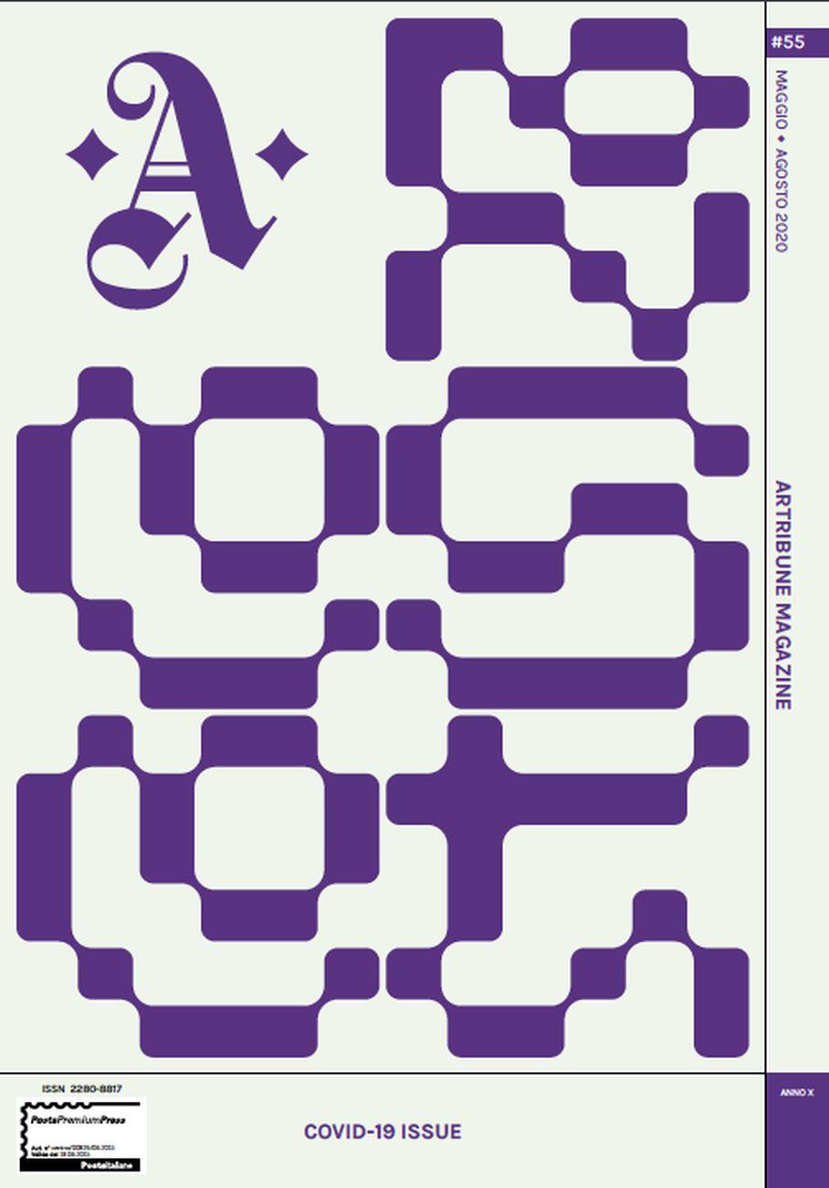 Tatanka Journal in collaborazione con Nicolò Oriani, il font disegno per Artribune Magazine #55