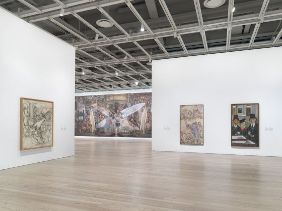 Vida Americana. Mexican Muralists Remake American Art, 1925 1945. Exhibition view at Whitney Museum of American Art, New York 2020. Photo Ron Amstutz