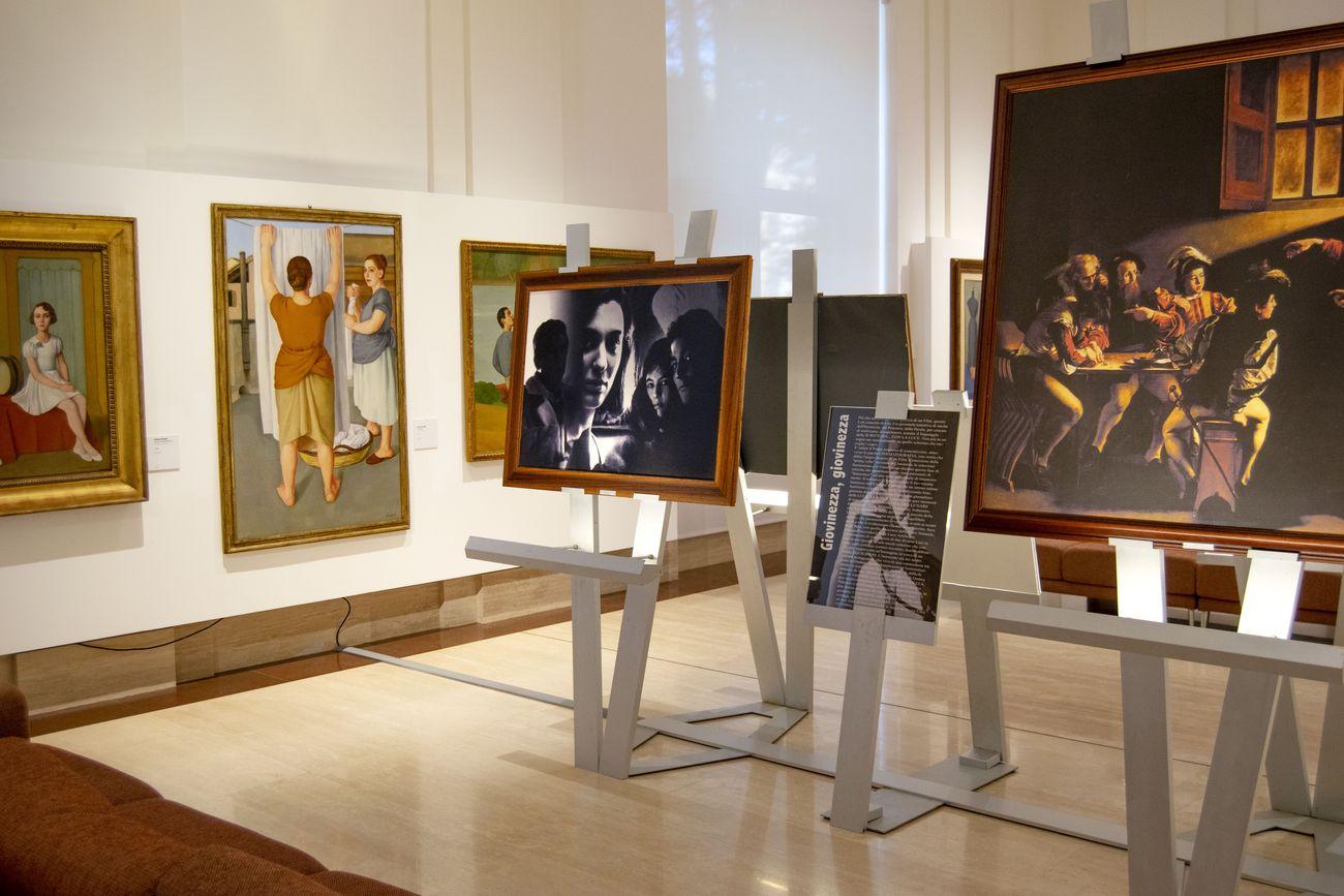 Vittorio Storaro. Scrivere con la luce. Exhibition view at Palazzo Merulana, Roma 2020
