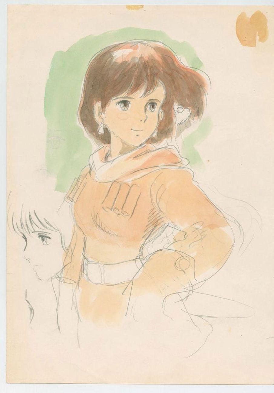 Production Imageboard, Nausicaa of the Valley of the Wind (1984), Hayao Miyazaki. Courtesy 1984, Studio Ghibli