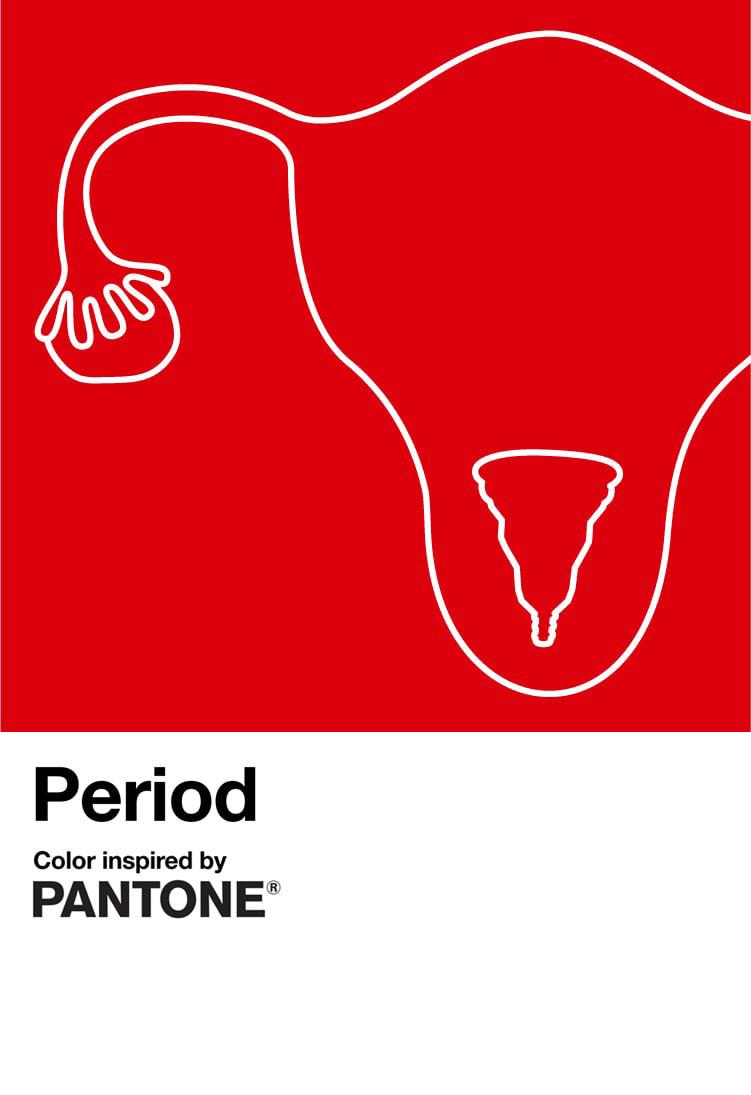 Period by Pantone - ph. Facebook Pantone