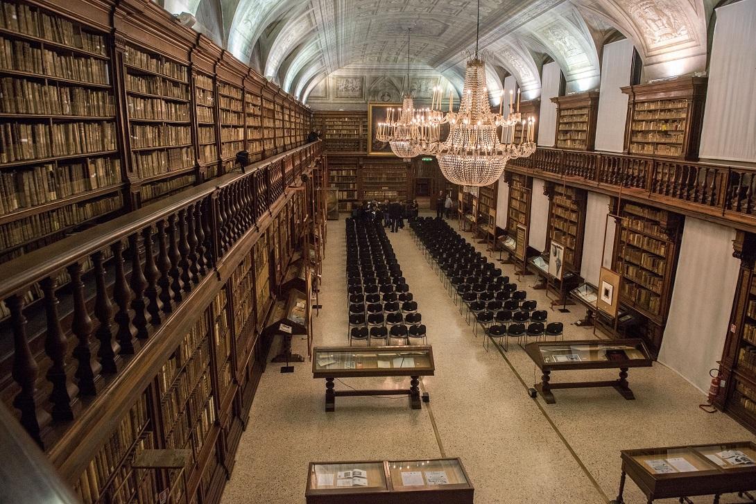 Biblioteca Braidense Sala Maria Teresa © James OMara