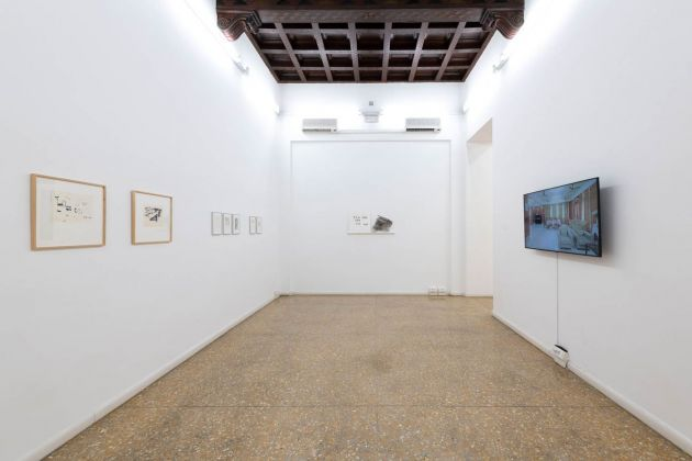 A Word that Troubles. Exhibition view at Temple University, Roma 2020
