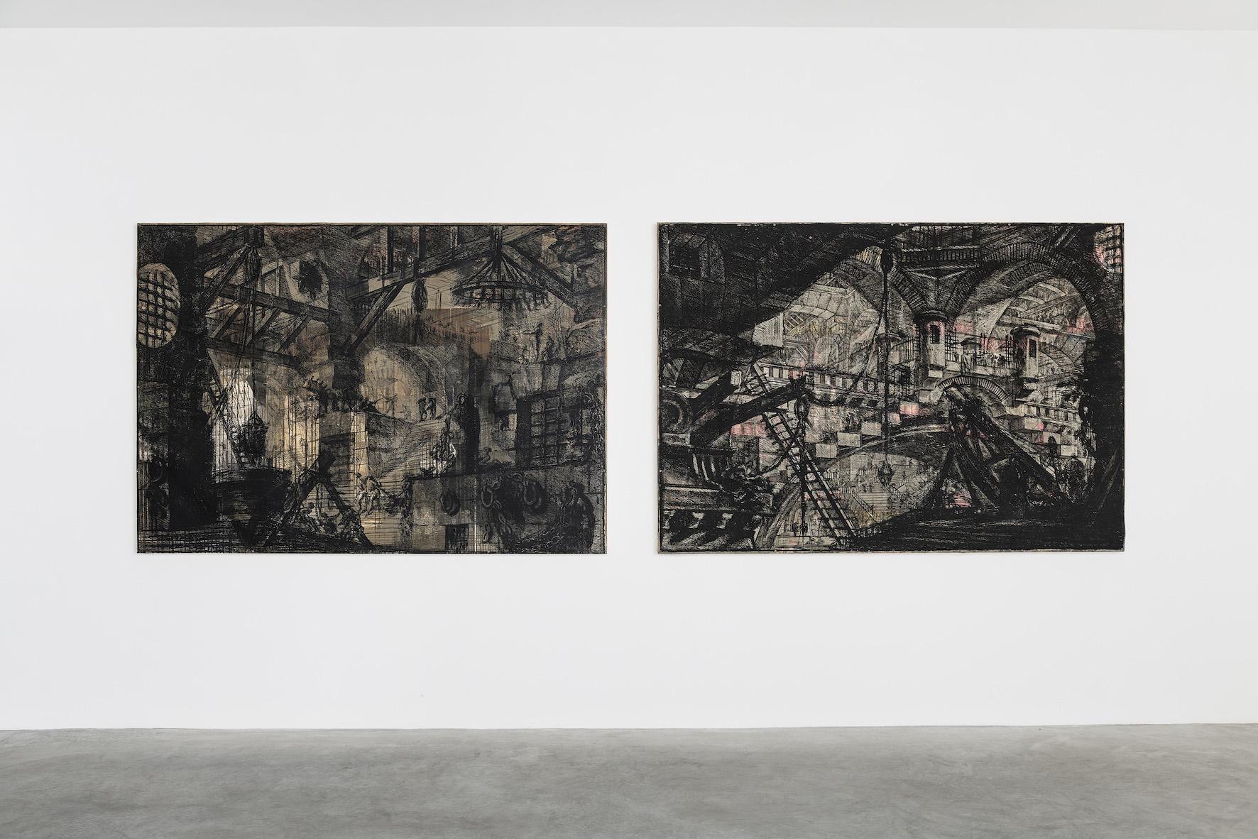 Galerie Rolando Anselmi   ROMA Grand Opening (in foto : opere di Moris (Israel Meza Moreno) ph : Sebastiano Luciano