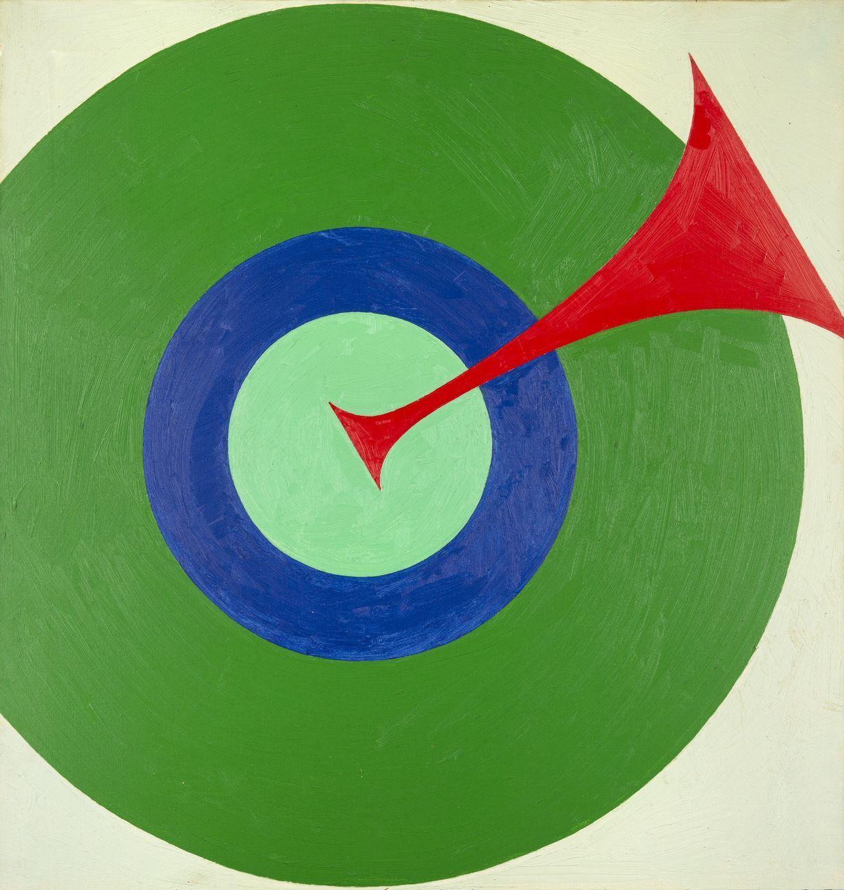 Alfonso Leoni, Senza titolo, 1968 ca., olio su tela, cm 60x70