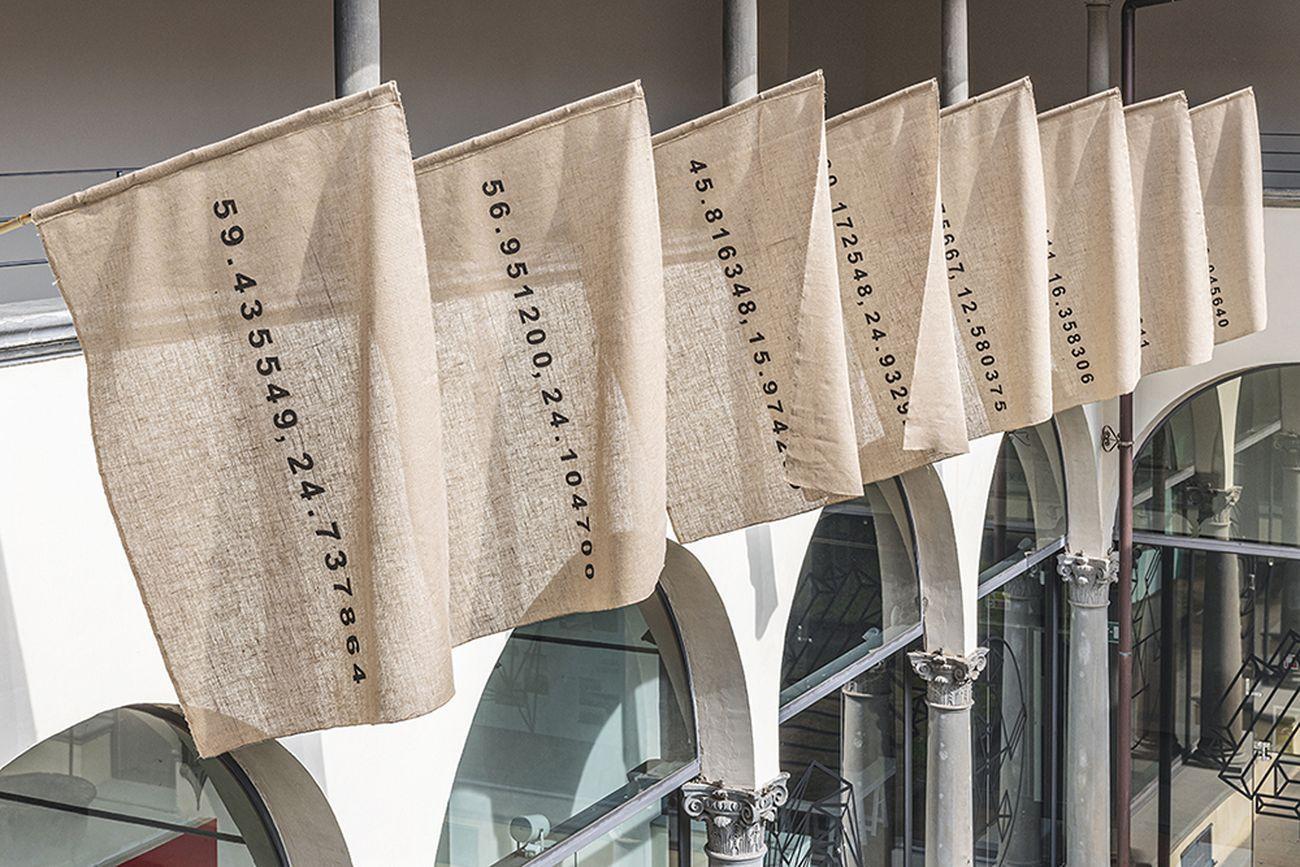 Andrea Francolino, Humus, 2020. Museo Novecento, Firenze 2020. Photo Leonardo Morfini