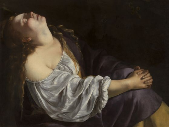 Artemisia Gentileschi, Mary Magdalene in Ecstasy, about 1620-25 © Photo Dominique Provost Art Photography Bruges