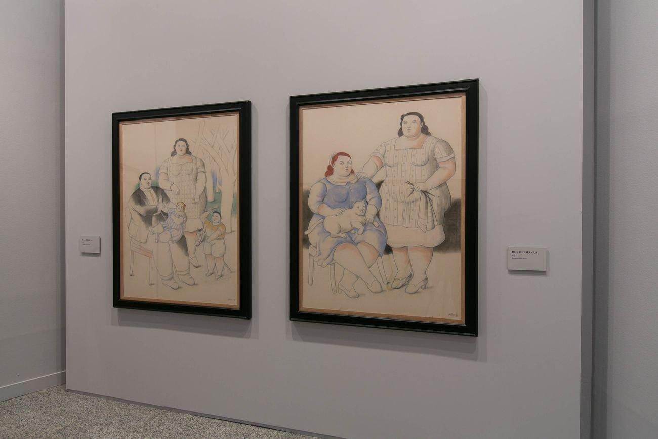 Botero. 60 años de pintura. Exhibition view at Centro Centro, Madrid 2020. Photo Lukasz Michalak