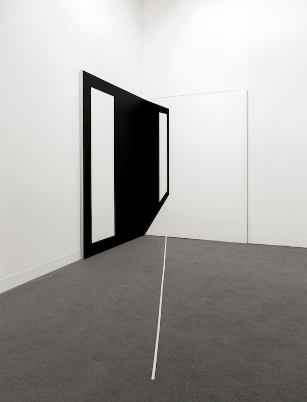 Carlo Alfano, Distanze (Delle distanze dalla rappresentazione), 1969. Photo Renato Ghiazza