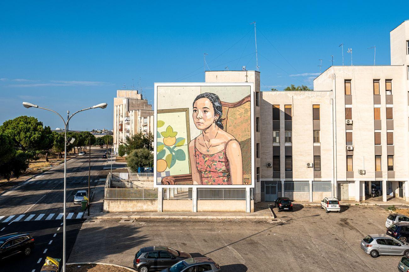 Dimitris Taxis, Cristi, Quartiere Paolo VI, Taranto 2020. Photo credits Iacopo Munno