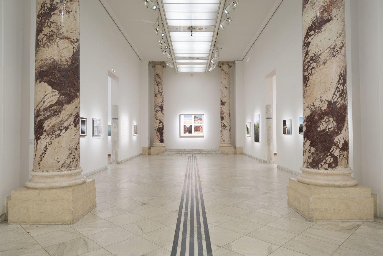 Gerhard Richter. Landschaft. Exhibition view at Kunstforum, Vienna 2020. Photo © Hannes Böck