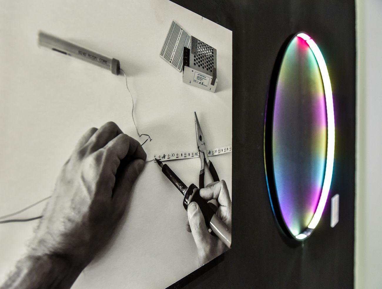 GestoZero. Istantanee 2020. Marco Amedani. Installation view at Museo del Violino, Cremona 2020