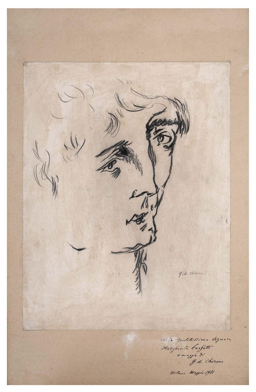 Giorgio de Chirico, Ritratto, 1927. Courtesy Galleria Russo, Roma