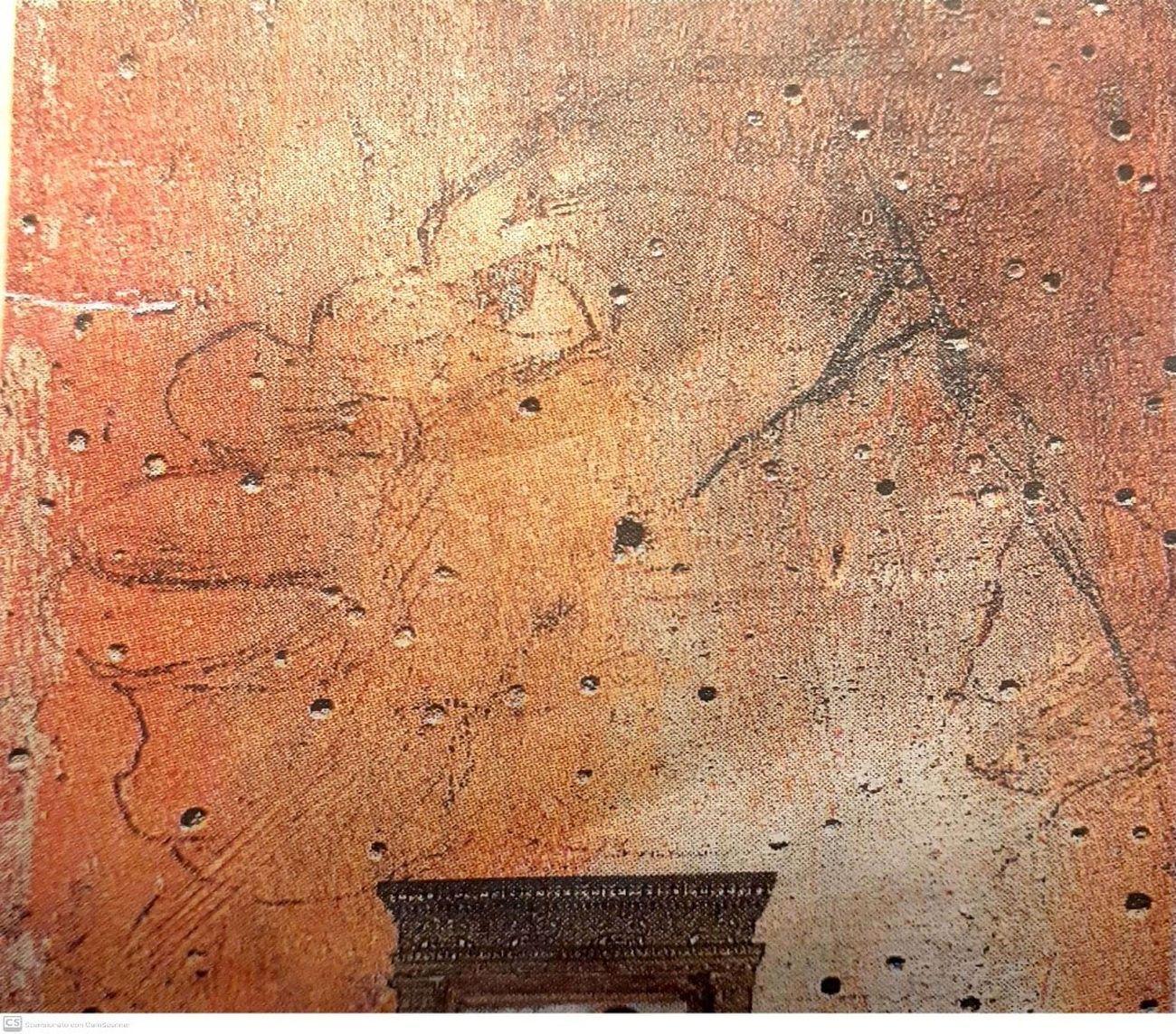 Giovanni Bellini, Profilo di un moro, Pala di Pesaro, 1472-75. Musei civici Pesaro