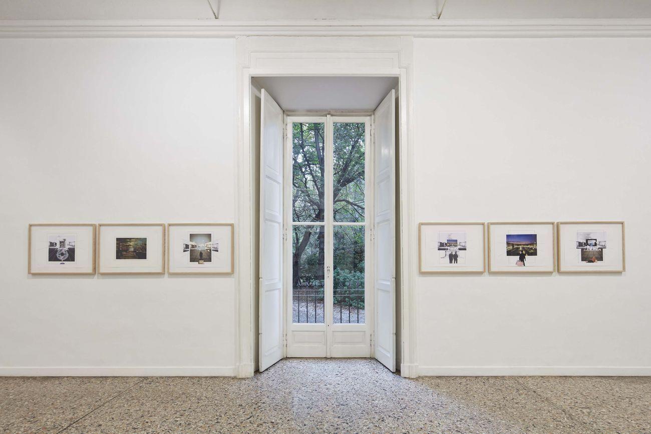 Giulio Paolini, Qui dove sono, 2018 19. Courtesy l'artista & Galleria Christian Stein, Milano. Photo Agostino Osio