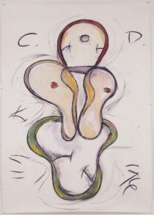 Keith Sonnier, Okalousa, Cat Doucet Series, 1996. Courtesy Keith Sonnier Studio e Galleria Fumagalli, Milano