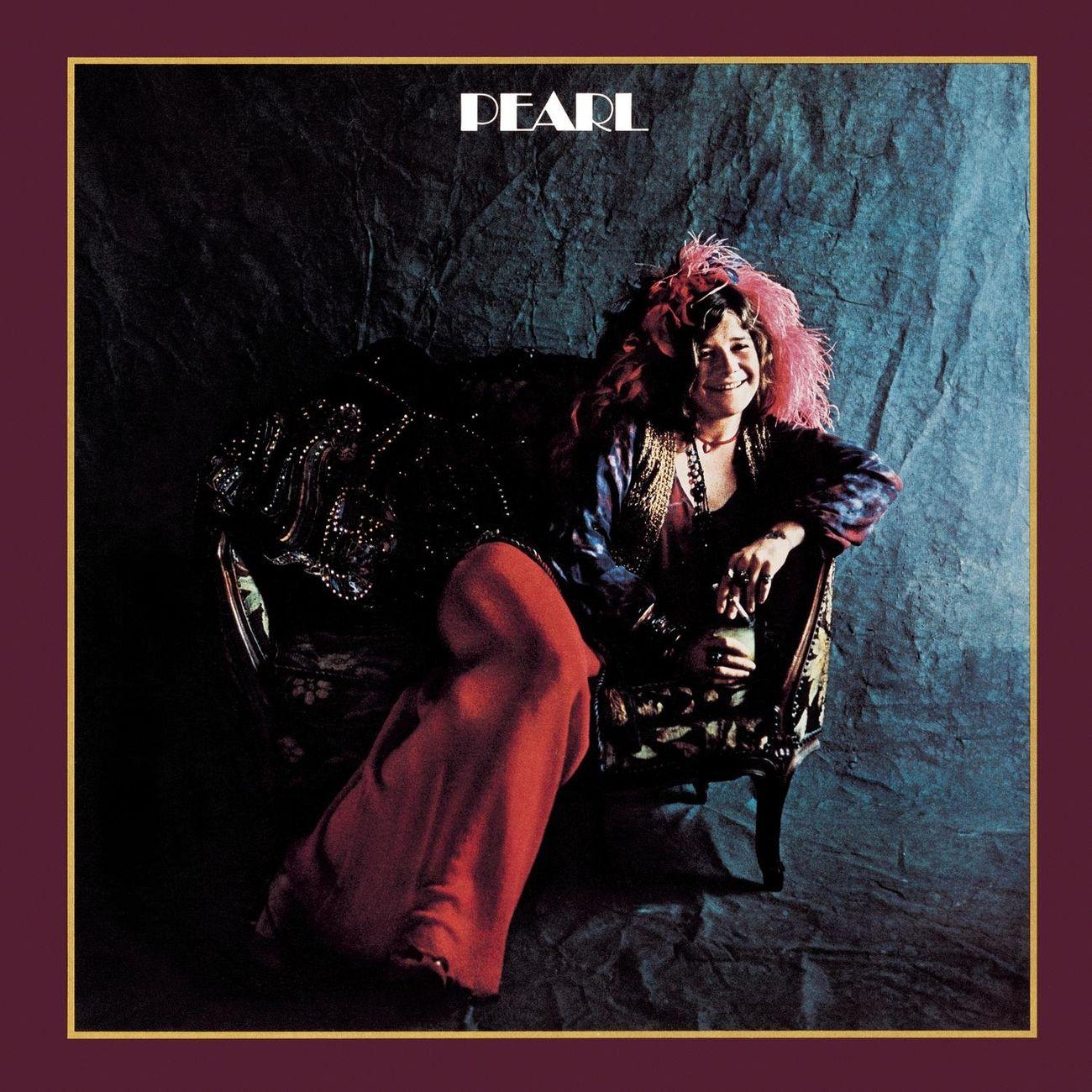 La copertina di Pearl (1971) di Janis Joplin