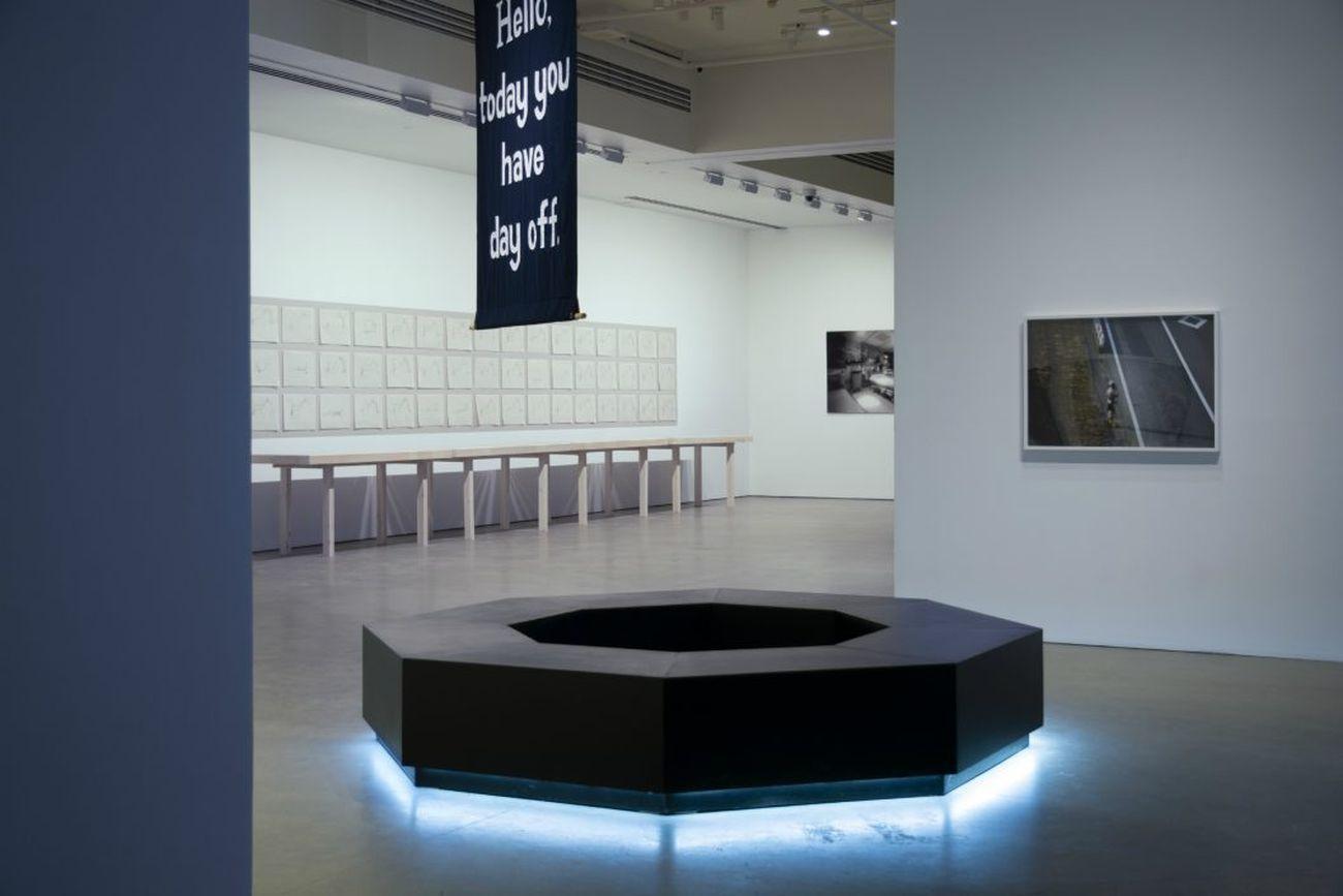 L'attente, 2019, Galerie de l'UQAM, Montréal, mostra a cura di Fabrizio Gallanti