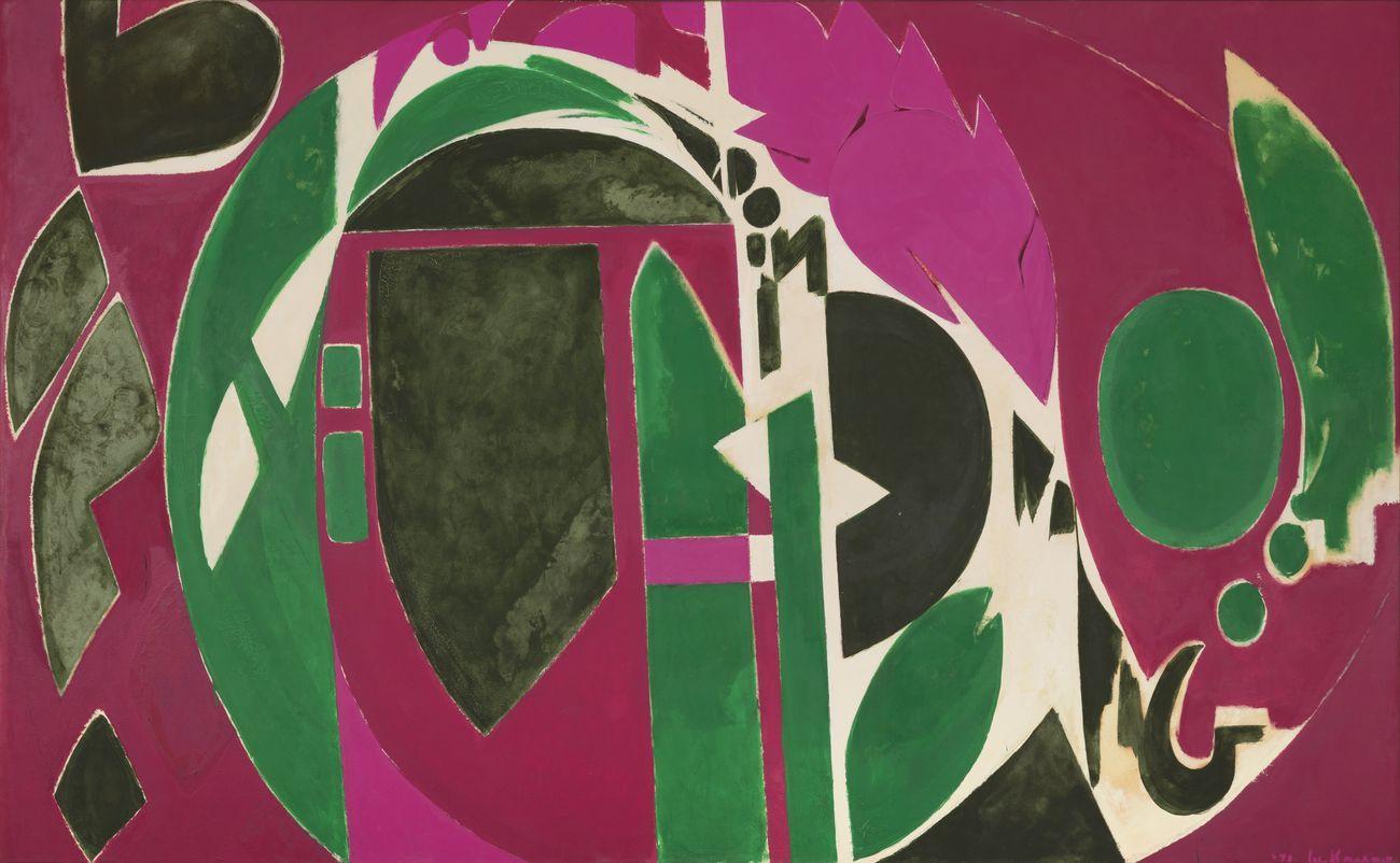 Lee Krasner, Palingenesis, 1971. The Pollock Krasner Foundation
