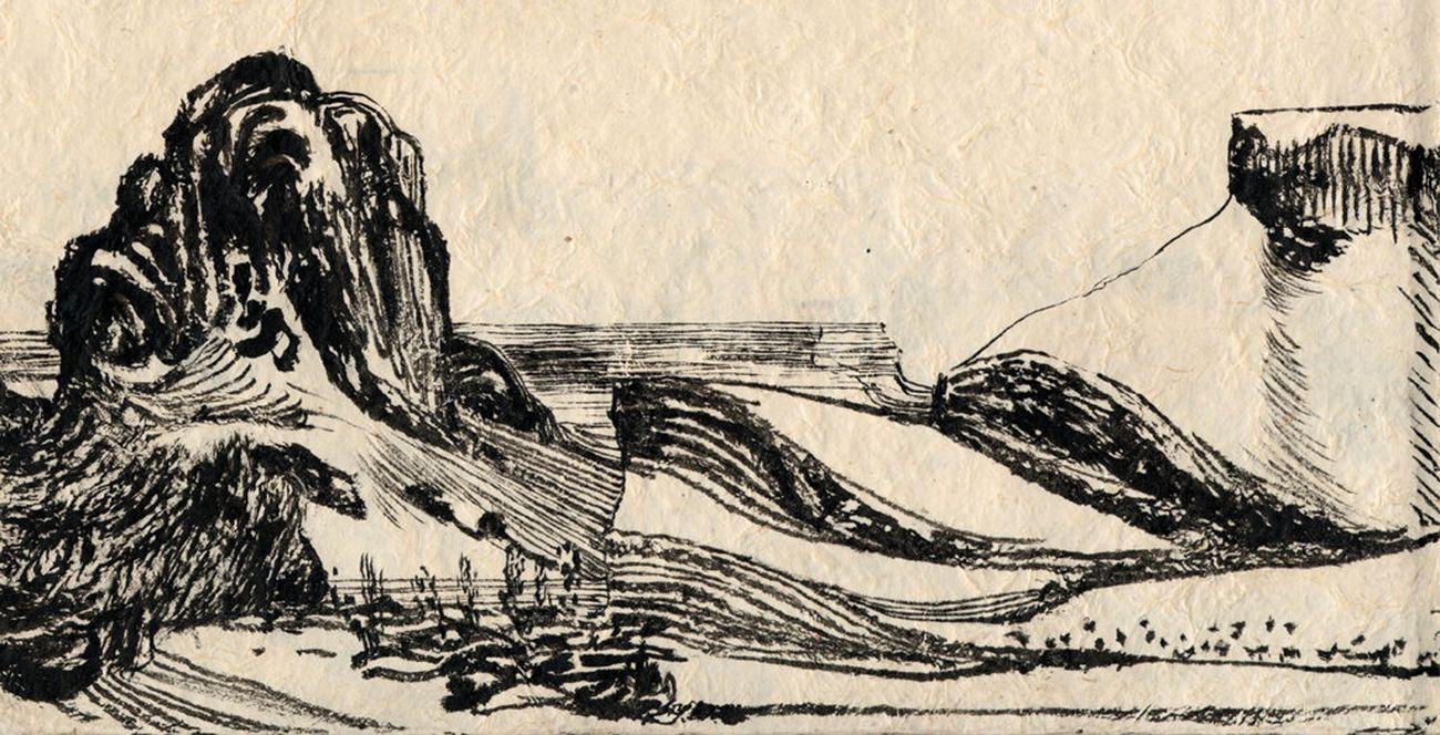 Lorenzo Mattotti, Patagonia, 2020