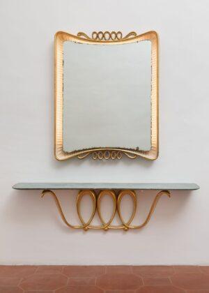 Lucio Fontana/Osvaldo Borsani. Installation view at Galleria Mattia De Luca, Roma 2020. Photo credit Daniele Molajoli. Courtesy Galleria Mattia De Luca