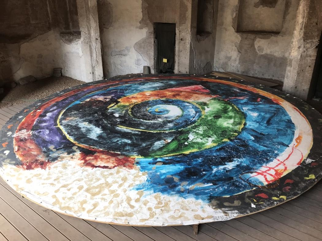 Mario Schifano, Il cosmo e gli elementi