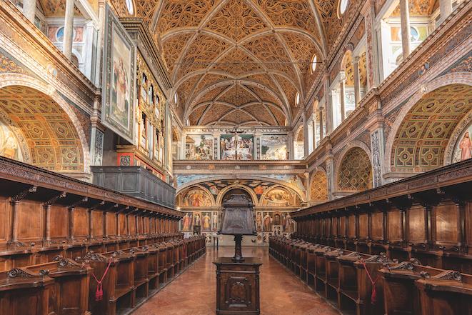 Milano - San Maurizio,aula delle monache