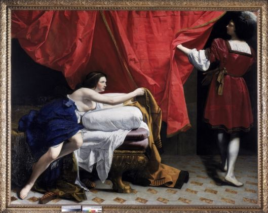 Orazio Gentileschi, Joseph and Potiphar's Wife, about 1630-2. Royal Collection Trust ©Her Majesty Queen Elizabeth II, 2019