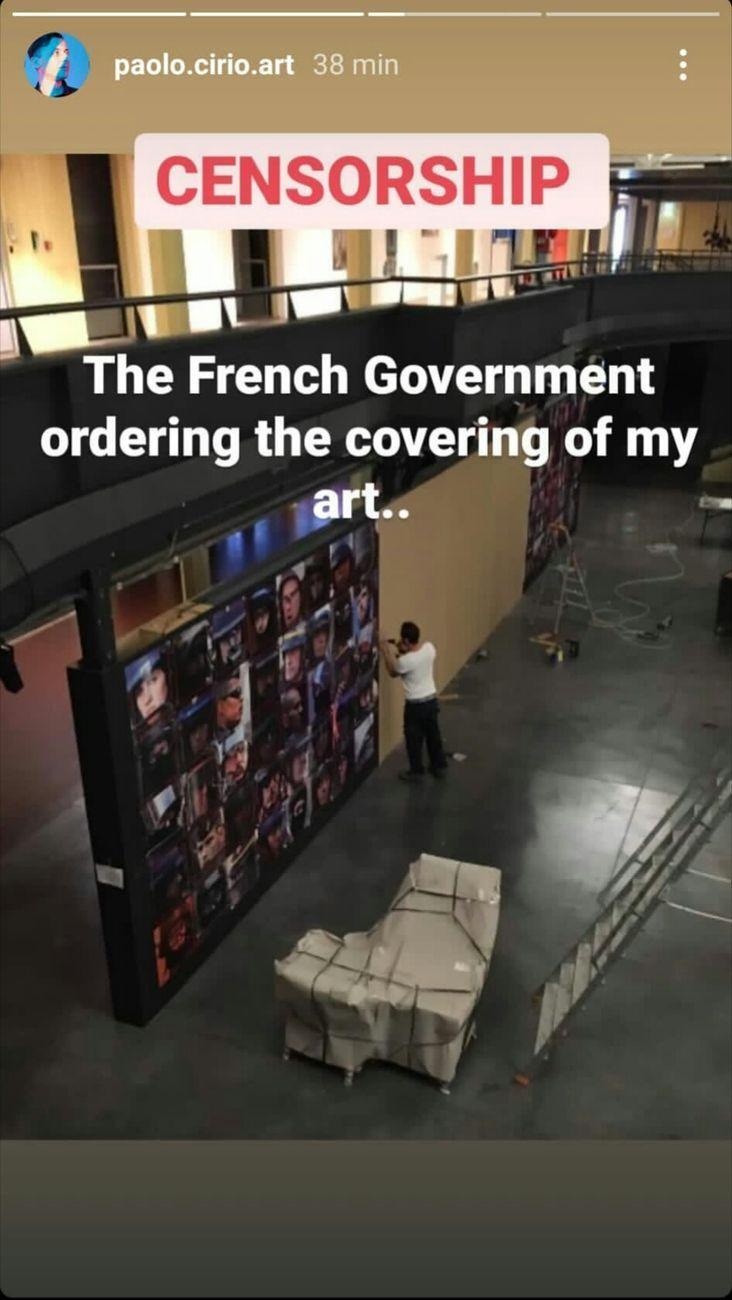 Paolo Cirio, Capture, Parigi 2020, censura a Le Fresnoy