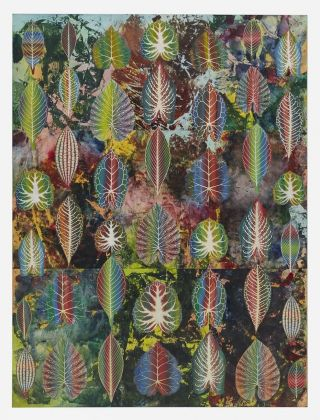 Philip Taaffe, Interznal Leaves, 2018 © Philip Taaffe. Courtesy the artist & Luhring Augustine, New York