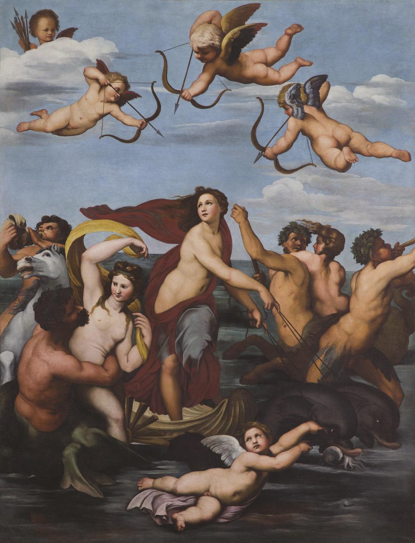 Pietro da Cortona, Trionfo di Galatea, 1624 c. olio su tela Roma, Accademia Nazionale di San Luca