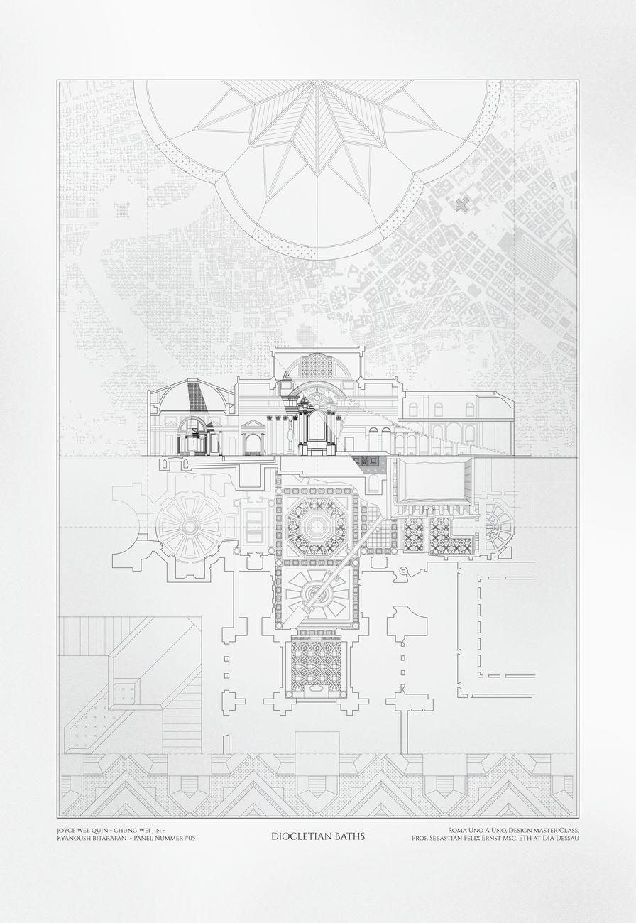 Sebastian Felix Ernst, Diocletian Baths, 2020