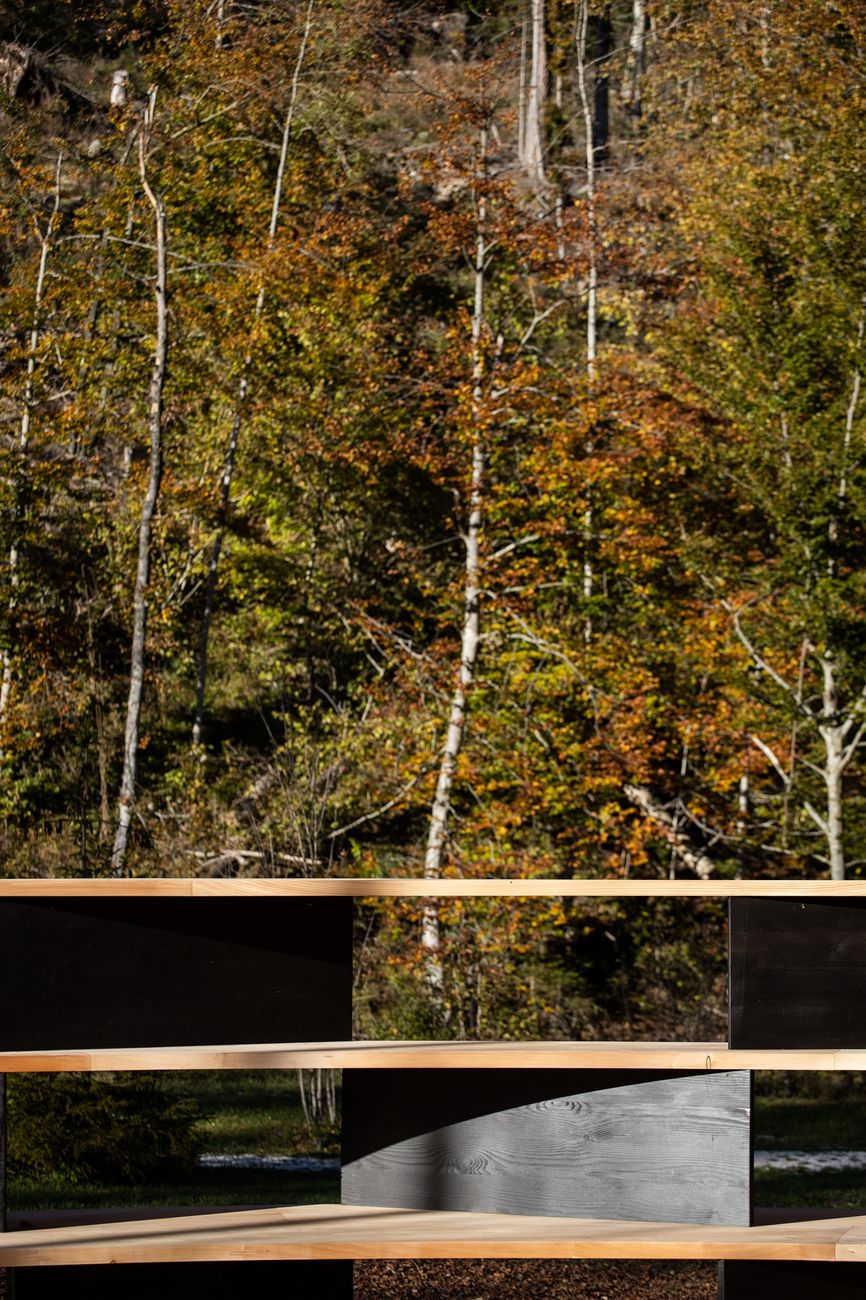 Stefano Boeri Interiors, Tree Room © Arte Sella 2020. Photo credits Giacomo Bianchi