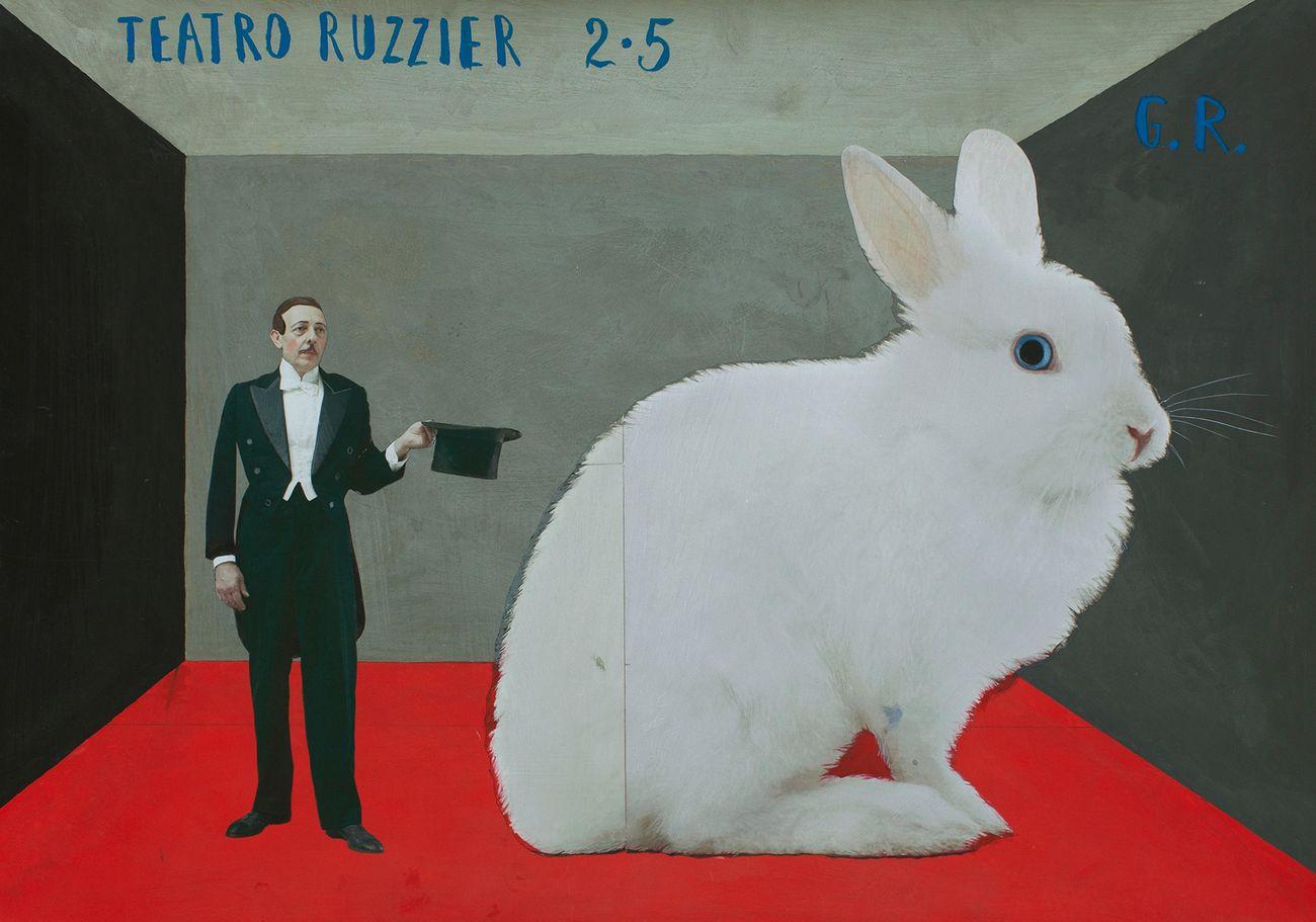 Teatro Ruzzier (da G.R. Grazia Ricevuta) 2019 © Paolo Ventura