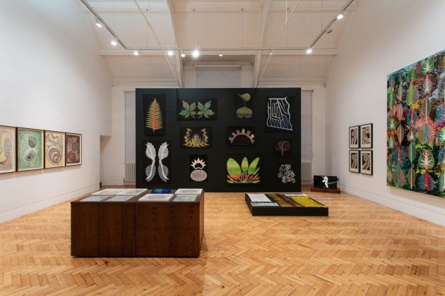 The Botanical Mind. Art, Mysticism and The Cosmic Tree. Installation view at Camden Art Centre, Londra 2020. Photo Rob Harris